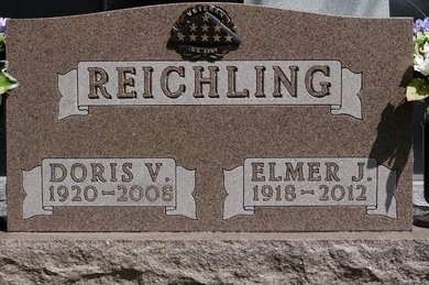 REICHLING, ELMER J. - Codington County, South Dakota | ELMER J. REICHLING - South Dakota Gravestone Photos