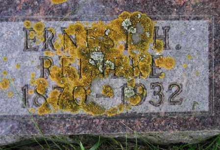 REINEKE, ERNEST HERMAN - Codington County, South Dakota | ERNEST HERMAN REINEKE - South Dakota Gravestone Photos