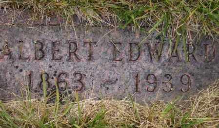 REITER, ALBERT EDWARD - Codington County, South Dakota | ALBERT EDWARD REITER - South Dakota Gravestone Photos