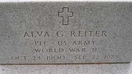 REITER, ALVA GLENN - Codington County, South Dakota | ALVA GLENN REITER - South Dakota Gravestone Photos
