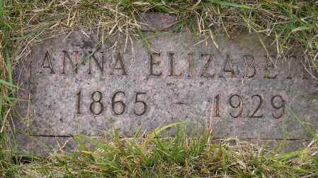 REITER, ANNA ELIZABETH - Codington County, South Dakota | ANNA ELIZABETH REITER - South Dakota Gravestone Photos
