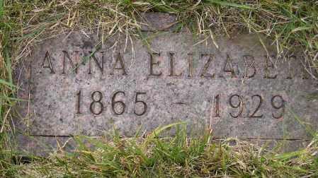 KLITTEL REITER, ANNA ELIZABETH - Codington County, South Dakota | ANNA ELIZABETH KLITTEL REITER - South Dakota Gravestone Photos