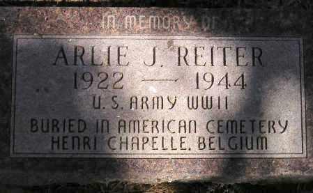 REITER, ARLIE J. - Codington County, South Dakota | ARLIE J. REITER - South Dakota Gravestone Photos