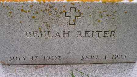 REITER, BEULAH - Codington County, South Dakota | BEULAH REITER - South Dakota Gravestone Photos