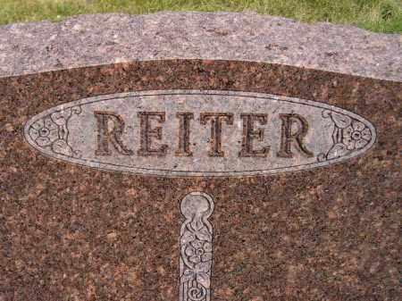 REITER, FAMILY STONE - Codington County, South Dakota   FAMILY STONE REITER - South Dakota Gravestone Photos