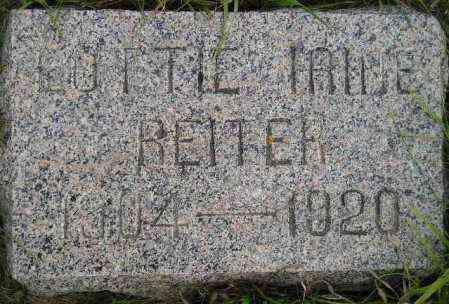 REITER, LOTTIE IRENE - Codington County, South Dakota   LOTTIE IRENE REITER - South Dakota Gravestone Photos