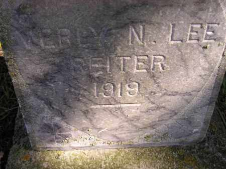 REITER, VERLY N. LEE - Codington County, South Dakota | VERLY N. LEE REITER - South Dakota Gravestone Photos