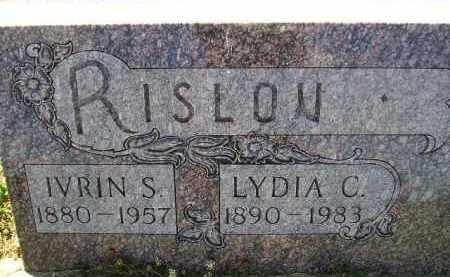 RISLOV, LYDIA CHARLOTTE - Codington County, South Dakota | LYDIA CHARLOTTE RISLOV - South Dakota Gravestone Photos