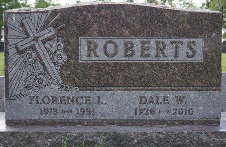 ROBERTS, FLORENCE L. - Codington County, South Dakota | FLORENCE L. ROBERTS - South Dakota Gravestone Photos