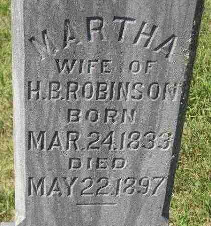 MCNEAL ROBINSON, MARTHA - Codington County, South Dakota | MARTHA MCNEAL ROBINSON - South Dakota Gravestone Photos