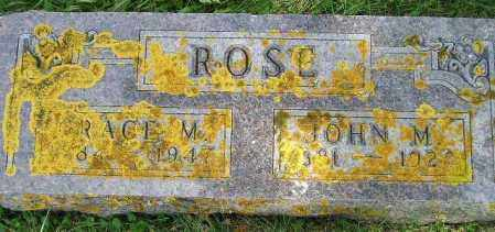 ROSE, GRACE M. - Codington County, South Dakota | GRACE M. ROSE - South Dakota Gravestone Photos