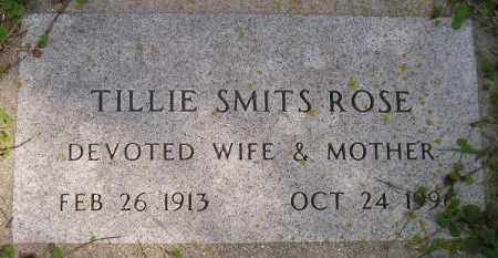 SMITS ROSE, TILLIE - Codington County, South Dakota | TILLIE SMITS ROSE - South Dakota Gravestone Photos