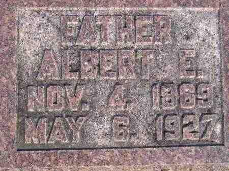 SASSE, ALBERT EMERSON - Codington County, South Dakota | ALBERT EMERSON SASSE - South Dakota Gravestone Photos
