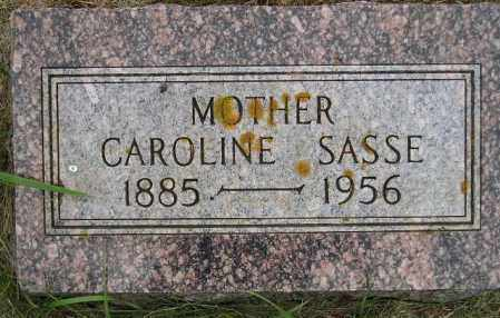 SASSE, CAROLINE - Codington County, South Dakota | CAROLINE SASSE - South Dakota Gravestone Photos