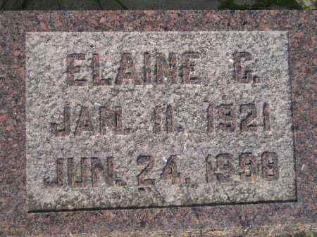 SASSE, ELAINE CAROLYN - Codington County, South Dakota | ELAINE CAROLYN SASSE - South Dakota Gravestone Photos