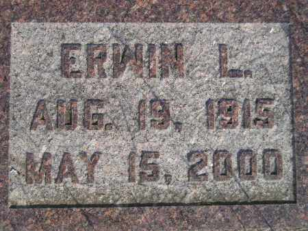 SASSE, ERWIN LEE - Codington County, South Dakota | ERWIN LEE SASSE - South Dakota Gravestone Photos