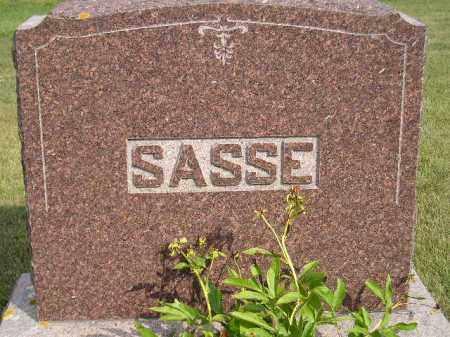 SASSE, FAMILY STONE - Codington County, South Dakota   FAMILY STONE SASSE - South Dakota Gravestone Photos