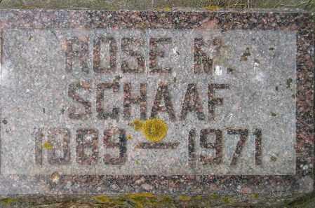 SCHAAF, ROSE MARIE - Codington County, South Dakota | ROSE MARIE SCHAAF - South Dakota Gravestone Photos