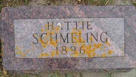 SCHMELING, HATTIE - Codington County, South Dakota | HATTIE SCHMELING - South Dakota Gravestone Photos