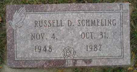 SCHMELING, RUSSELL D. - Codington County, South Dakota | RUSSELL D. SCHMELING - South Dakota Gravestone Photos