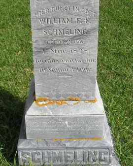 SCHMELING, WILLIAM F.F. - Codington County, South Dakota | WILLIAM F.F. SCHMELING - South Dakota Gravestone Photos