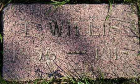 SCHOONOVER, E. WILLIS - Codington County, South Dakota   E. WILLIS SCHOONOVER - South Dakota Gravestone Photos