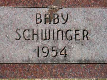 SCHWINGER, BABY 1954 - Codington County, South Dakota   BABY 1954 SCHWINGER - South Dakota Gravestone Photos