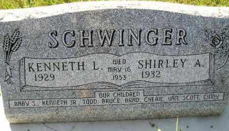 SCHWINGER, SHIRLEY A. - Codington County, South Dakota | SHIRLEY A. SCHWINGER - South Dakota Gravestone Photos