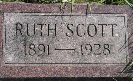 ELGIE SCOTT, RUTH EDNA - Codington County, South Dakota | RUTH EDNA ELGIE SCOTT - South Dakota Gravestone Photos