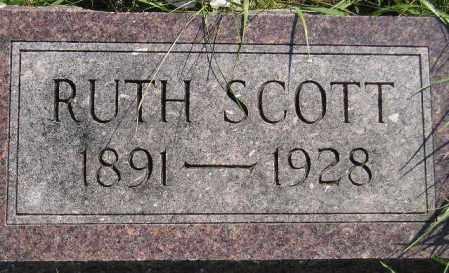 SCOTT, RUTH EDNA - Codington County, South Dakota | RUTH EDNA SCOTT - South Dakota Gravestone Photos