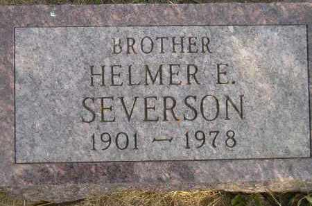 SEVERSON, HELMER E. - Codington County, South Dakota | HELMER E. SEVERSON - South Dakota Gravestone Photos