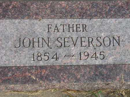 SEVERSON, JOHN - Codington County, South Dakota | JOHN SEVERSON - South Dakota Gravestone Photos