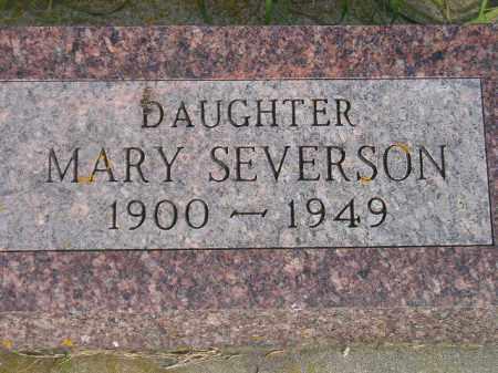 SEVERSON, MARY - Codington County, South Dakota | MARY SEVERSON - South Dakota Gravestone Photos