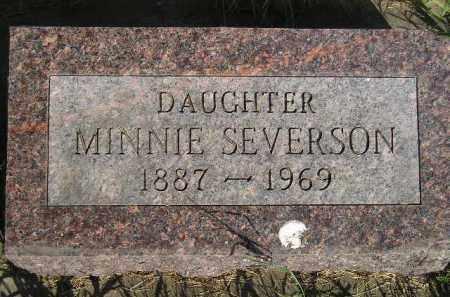 SEVERSON, MINNIE D. - Codington County, South Dakota   MINNIE D. SEVERSON - South Dakota Gravestone Photos