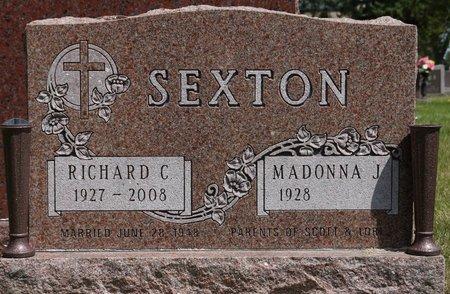 SEXTON, RICHARD C. - Codington County, South Dakota | RICHARD C. SEXTON - South Dakota Gravestone Photos