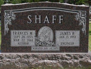 SHAFF, FRANCES M. - Codington County, South Dakota | FRANCES M. SHAFF - South Dakota Gravestone Photos
