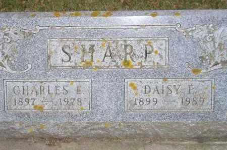 SHARP, CHARLES E. - Codington County, South Dakota | CHARLES E. SHARP - South Dakota Gravestone Photos
