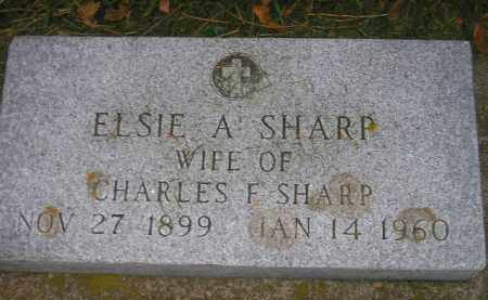 SHARP, ELSIE A. - Codington County, South Dakota | ELSIE A. SHARP - South Dakota Gravestone Photos