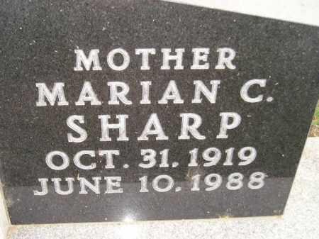 PEARSON SHARP, MARIAN CHARLOTTE - Codington County, South Dakota | MARIAN CHARLOTTE PEARSON SHARP - South Dakota Gravestone Photos