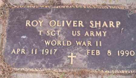 SHARP, ROY OLIVER (WW II) - Codington County, South Dakota | ROY OLIVER (WW II) SHARP - South Dakota Gravestone Photos
