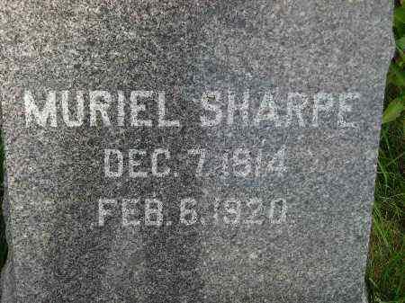 SHARPE, MURIEL - Codington County, South Dakota   MURIEL SHARPE - South Dakota Gravestone Photos