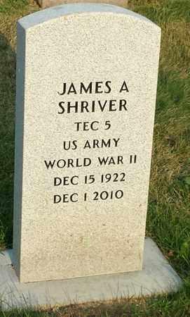 SHRIVER, JAMES A - Codington County, South Dakota | JAMES A SHRIVER - South Dakota Gravestone Photos