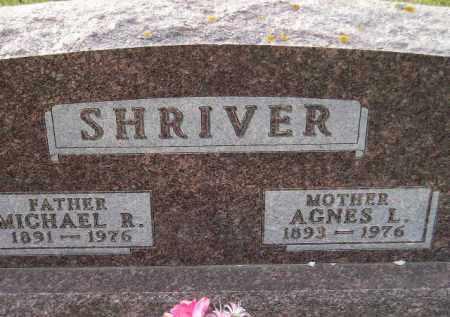 SHRIVER, AGNES L. - Codington County, South Dakota   AGNES L. SHRIVER - South Dakota Gravestone Photos