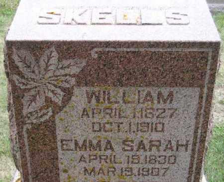 BURT SKELLS, EMMA SARAH - Codington County, South Dakota | EMMA SARAH BURT SKELLS - South Dakota Gravestone Photos
