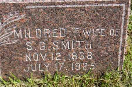 HARDING SMITH, MILDRED T. - Codington County, South Dakota | MILDRED T. HARDING SMITH - South Dakota Gravestone Photos