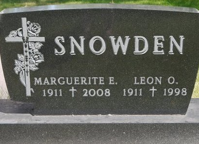 GRANDPRE' SNOWDEN, MARGUERITE E. - Codington County, South Dakota | MARGUERITE E. GRANDPRE' SNOWDEN - South Dakota Gravestone Photos