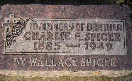SPICER, CHARLIE H. - Codington County, South Dakota | CHARLIE H. SPICER - South Dakota Gravestone Photos