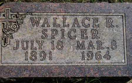 SPICER, WALLACE R. - Codington County, South Dakota | WALLACE R. SPICER - South Dakota Gravestone Photos
