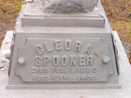 SPOONER, CLEORA - Codington County, South Dakota   CLEORA SPOONER - South Dakota Gravestone Photos