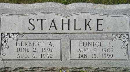 STAHLKE, EUNICE E. - Codington County, South Dakota | EUNICE E. STAHLKE - South Dakota Gravestone Photos